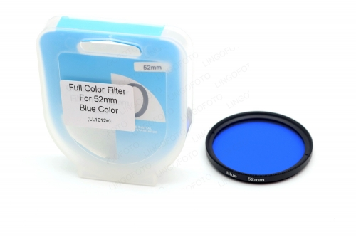 52mm Full Color Conversion Lens Filter for Canon Nik DSLR LL1012a
