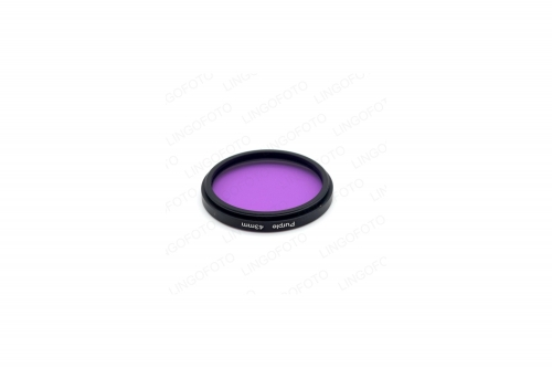 43mm Color Screen Red Full Filter Brand Filte LL1009a