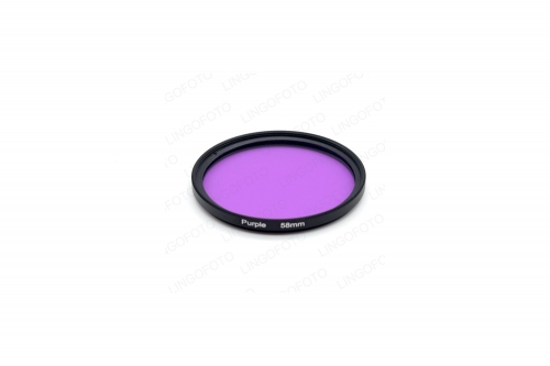 58mm Full Color Lens Filter replace for canon rebel t5i t4i t3i t3 t2i LL1014a