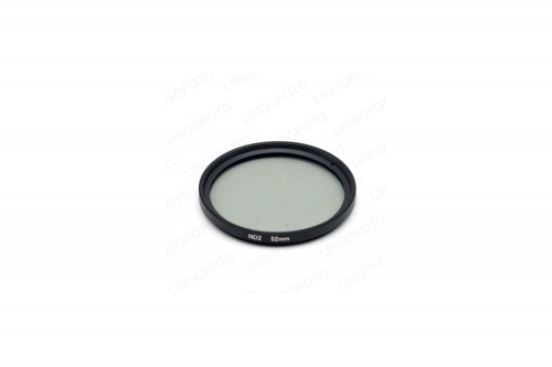 Neutral Density 52mm ND2 Filter For Nikon Canon Sony commonly used NP5302