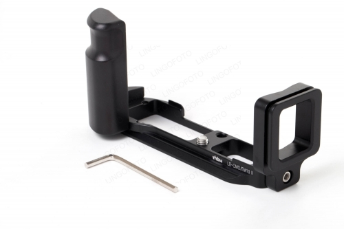 L Plate Vertical Bracket Holder For Olympus OMD EM10 E-M10II Quick Release Plate LC7801