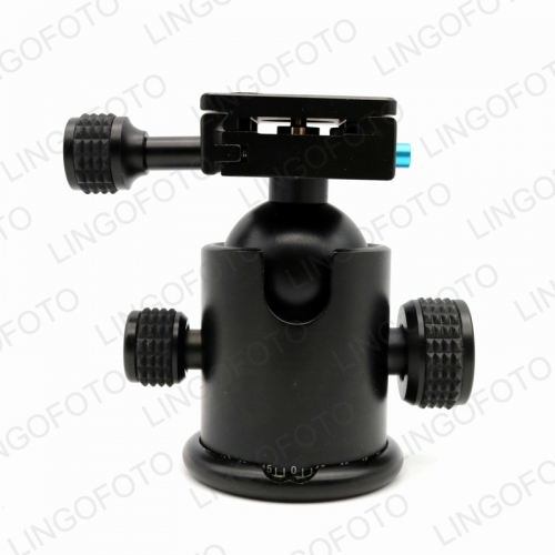 Tripod Head Ball 360° Rotating Panoramic Quick Release Plate LC2206