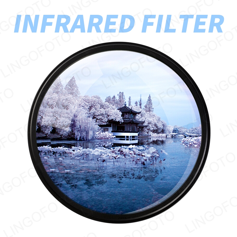 InfraRed FilterIR680 720,760,850,950 Infrared X-RAY IR Filter for 43/46/49/52/55/58/62/67/72/77/82mm
