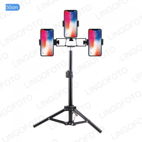 Phone Tripod Mobile Phone Lightweight Smartphone Tripod Selfie Stick Support Photo With 3 Three Phone Holder UC9838 -UC9840