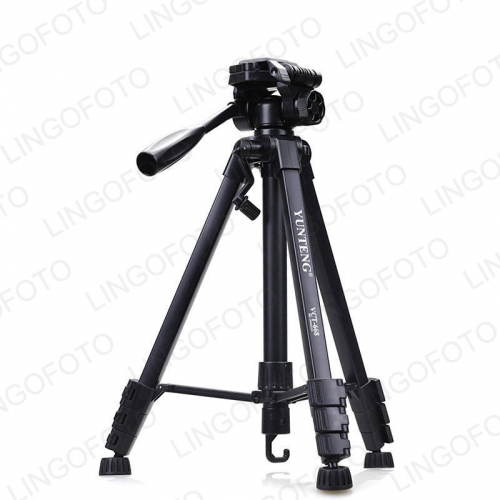 Compact Lightweight Travel Portable Camera Tripod with Phone Mount Holder for Cell Phone DSLR UC9855