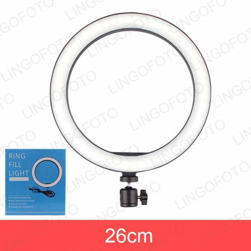 live Streaming 10-inch 26cm Ring Lamp Flash LED Light USB Photography Lighting Lamp for Camera Smartphone Studio UC9750