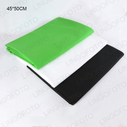 Smooth Green Screen Chroma Key Background Green White Black Backdrop for Photo Studio AH1005a