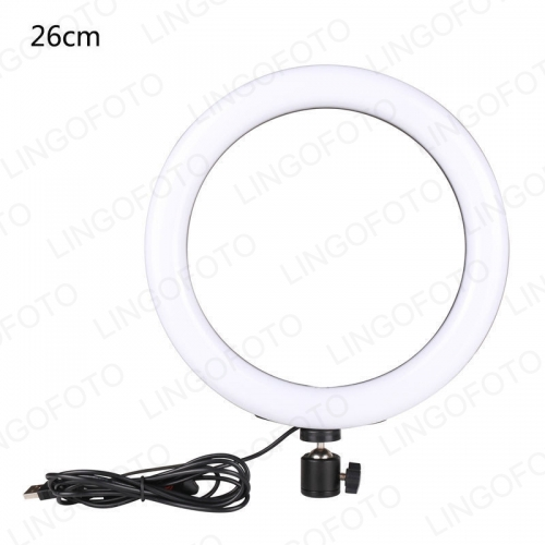 10inch 26cm USB Interface Dimmable LED Selfie Ring Light Camera Phone Photography Video Makeup Ring Light