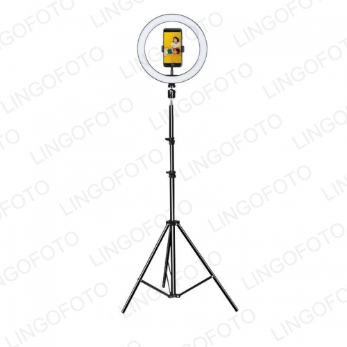 "LED Ring Light 10"" with 170cm Tripod Stand for YouTube Video and Makeup Supported Bluetooth Control"